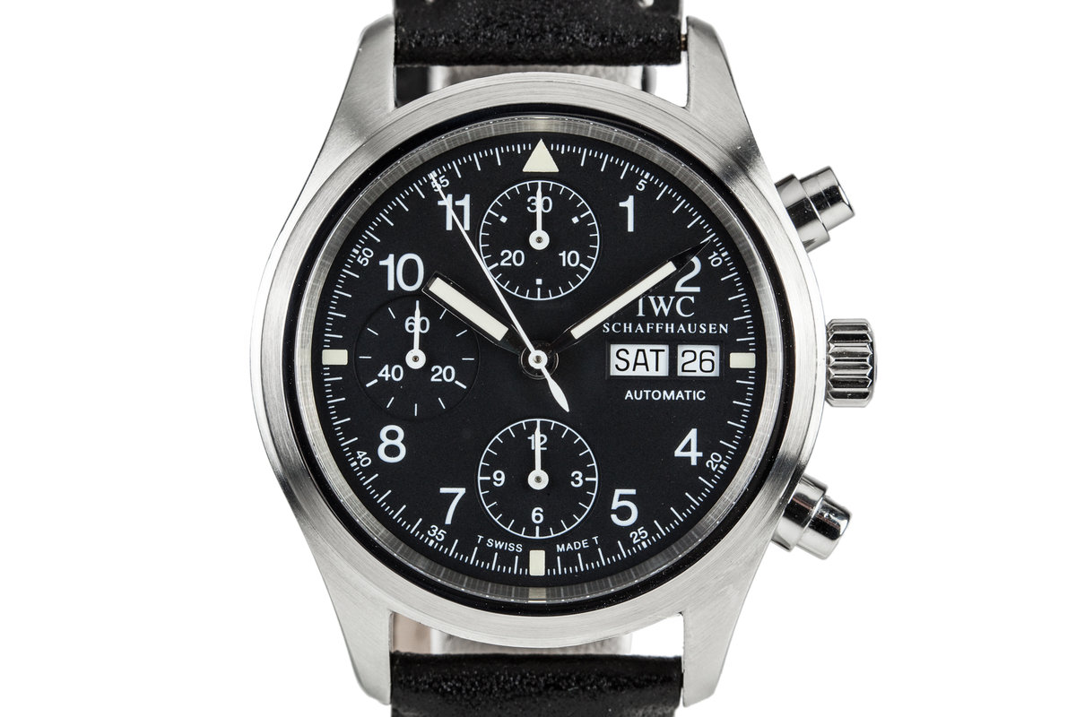 IWC Pilots Chronograph 3706 photo, #0