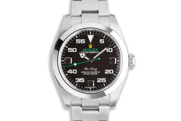 2020 Rolex 40mm Air-King 116900 with Box & Card photo