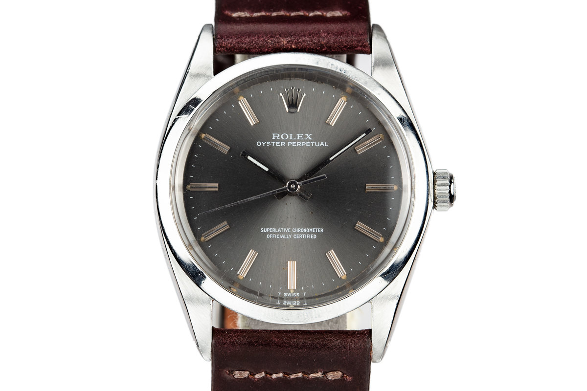 1968 Rolex Oyster Perpetual 1018 Grey Dial photo, #0