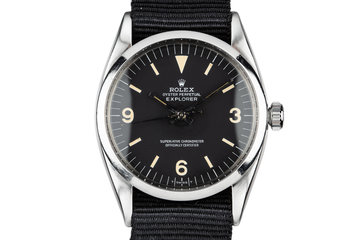 1956 Rolex Explorer 6610 with Matte Service Dial photo