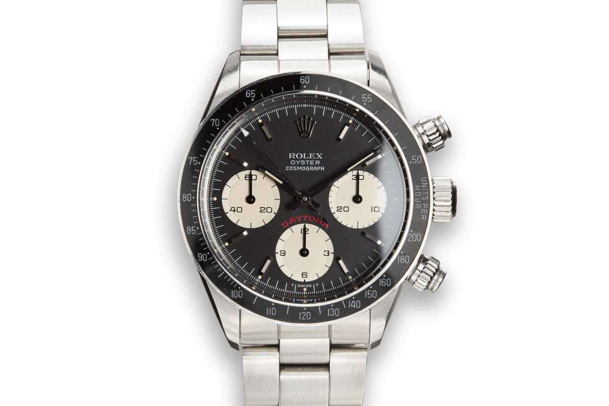 """1986 Rolex Daytona 6263 """"Big Red"""" Black Dial with Service Papers photo, #0"""
