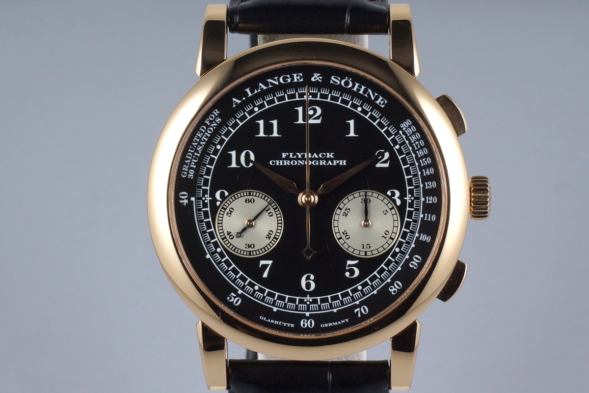 A. Lange & Sohne YG 1815 Flyback Chronograph 401.031 photo, #0