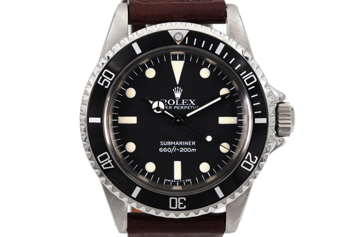 1965 Rolex Submariner 5513 with Mark 4 Maxi Dial  photo