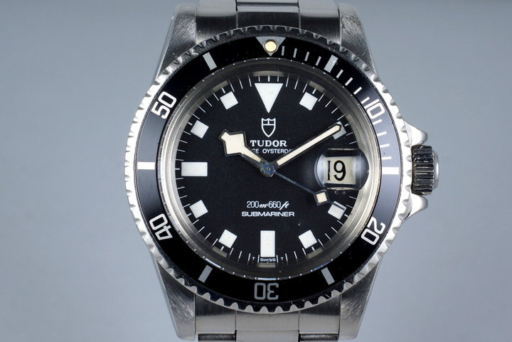 1977 Tudor Submariner 94110 Snowflake with Box photo