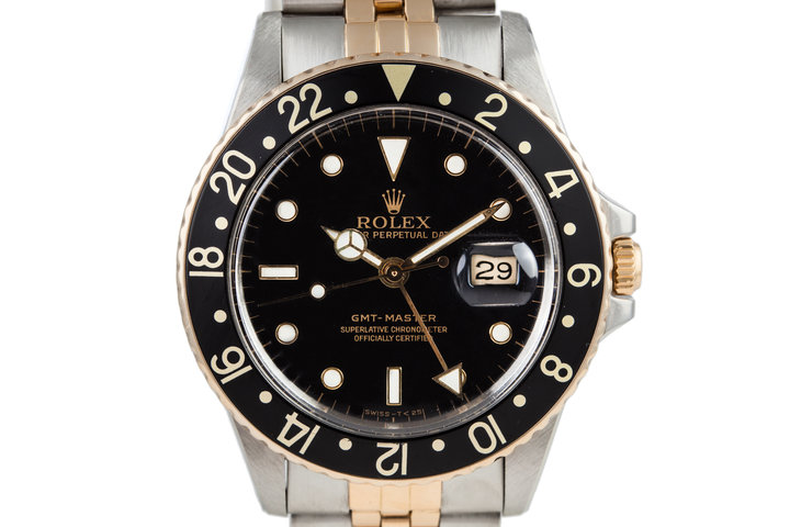 1981 Rolex Two Tone GMT 16753 photo