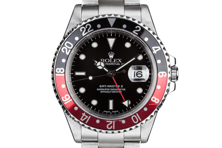 """2000 Rolex GMT-Master II 16710 with """"Coke"""" Insert photo"""