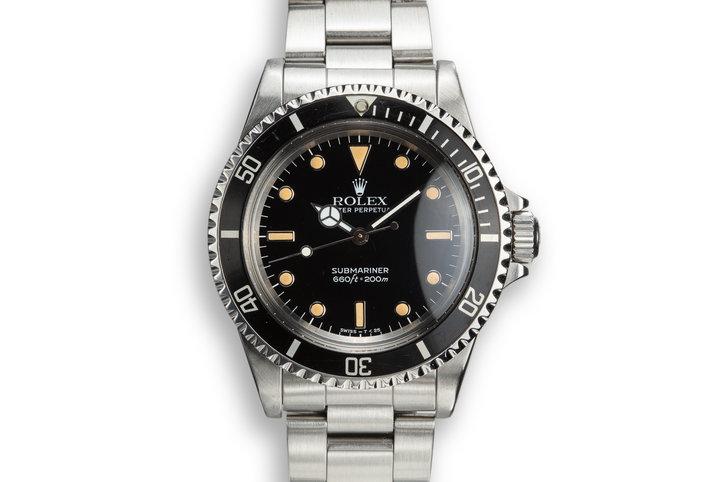 1987 Rolex Submariner 5513 photo