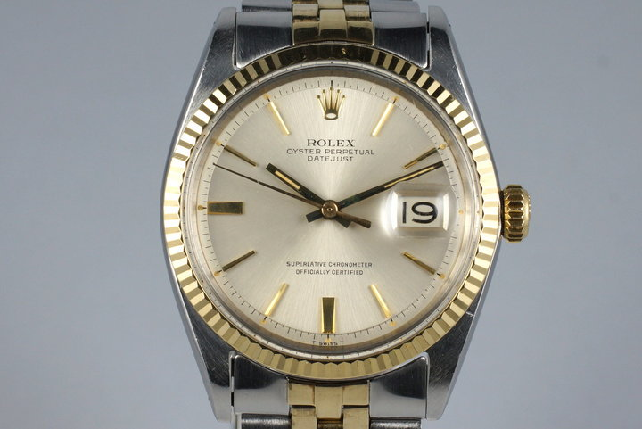 1967 Rolex Two Tone DateJust 1601 Silver Dial photo