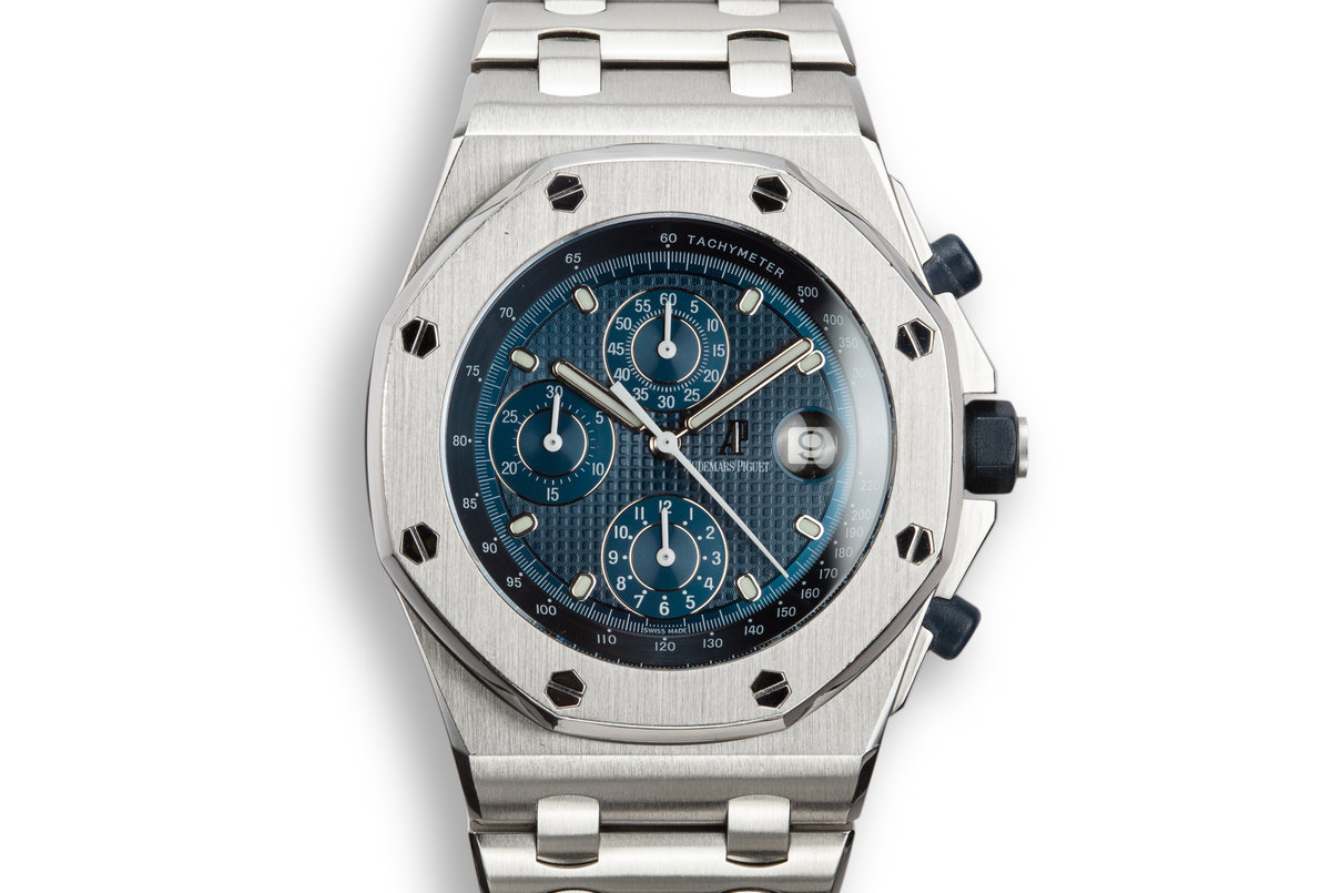 Audemars Piguet Royal Oak Offshore 25721ST.OO.1000ST.01 with Box and Service Papers photo, #0