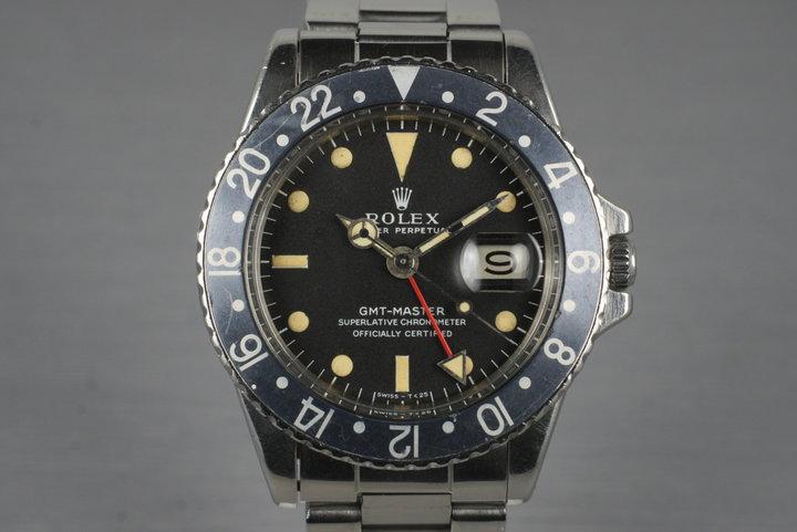 1967 Rolex GMT 1675 Mark I Dial photo