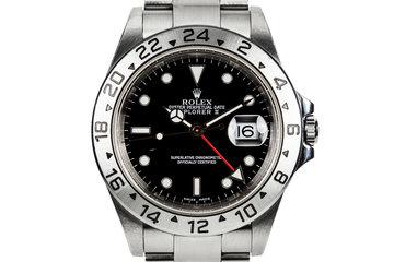 2000 Rolex Explorer II 16570 Black Dial photo
