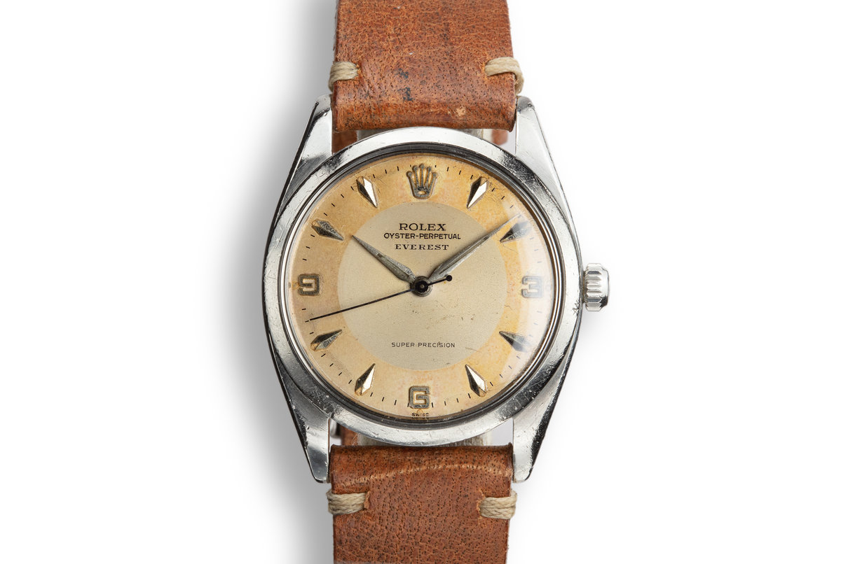 "1958 Rolex Oyster-Perpetual ""Everest"" 5504 Two Tone Dial photo, #0"
