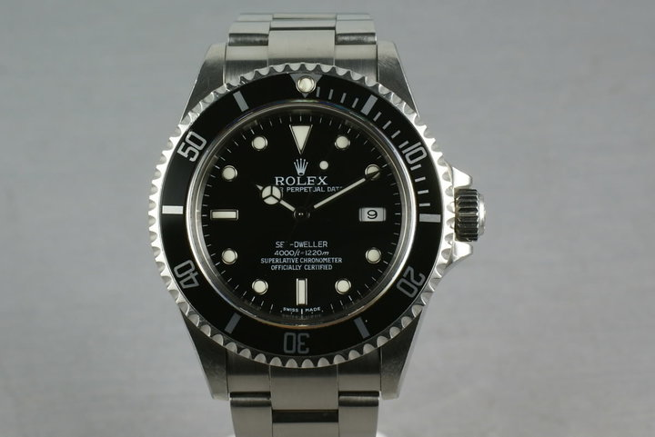 Rolex Sea Dweller 16600 with Box and Papers photo