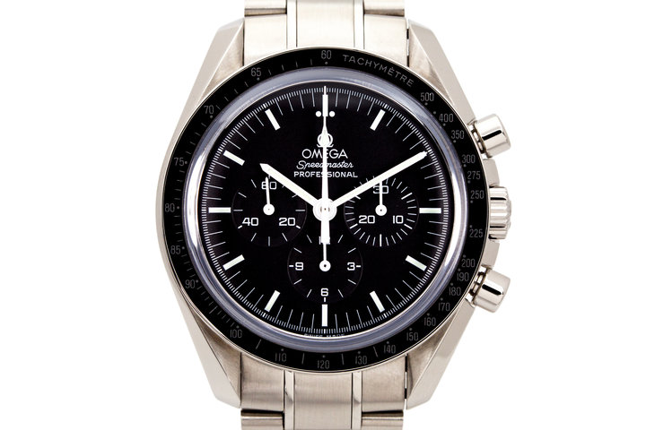 2011 Omega Speedmaster 3572.50 Professional with Box and Papers photo