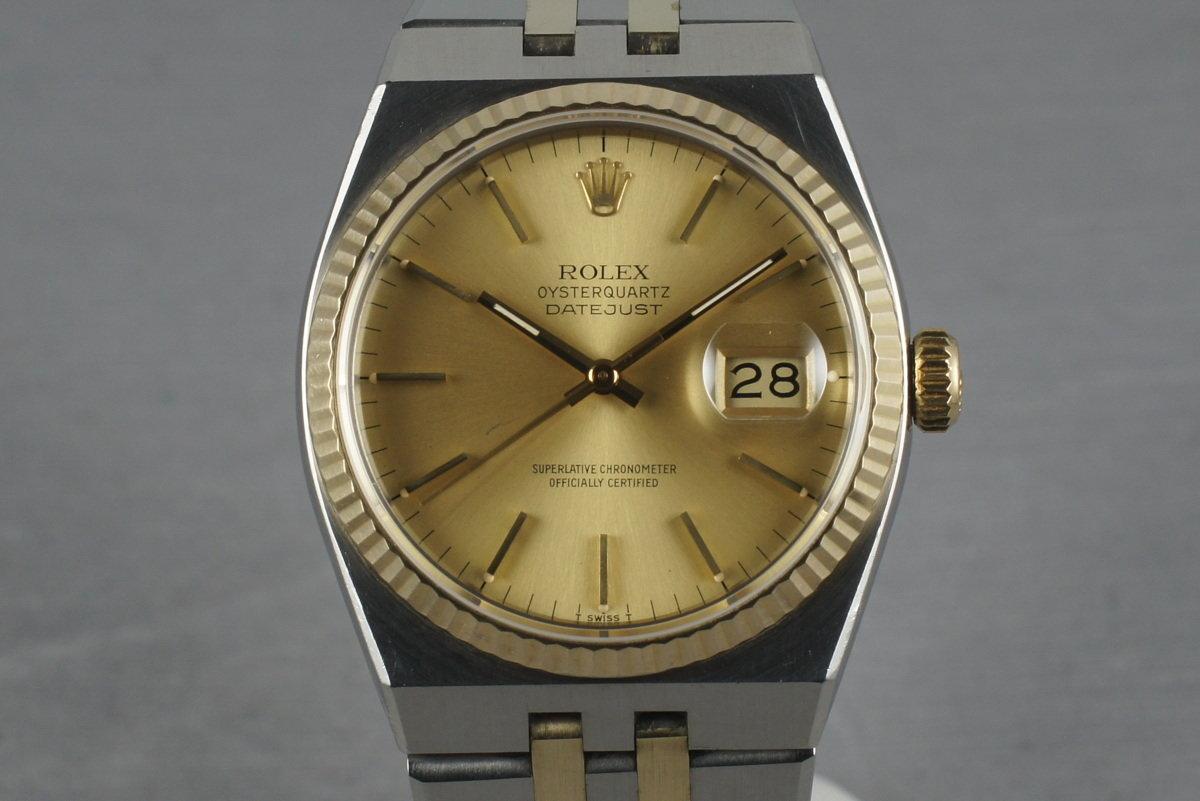 Rolex 2 Tone Oysterquartz 17013 photo, #0