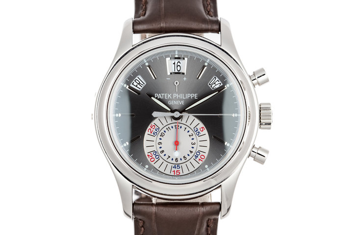 Patek Philippe Complications Annual Calendar 5960P ‑ 001 Grey Dial with Box and Papers photo
