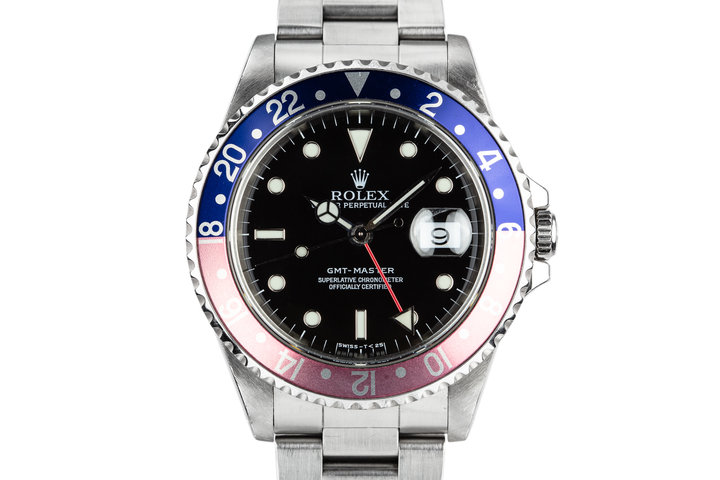 """1997 Rolex GMT-Master 16700 """"Pepsi"""" photo"""