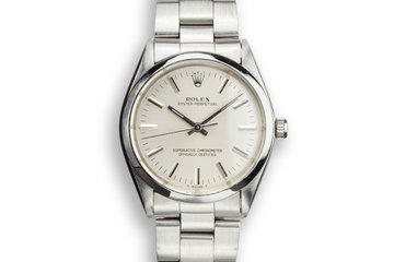 1978 Rolex Oyster Perpetual 1002 Silver Dial photo