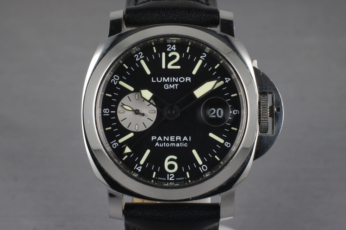 2006 Panerai PAM 88 GMT with Box and Papers photo, #0
