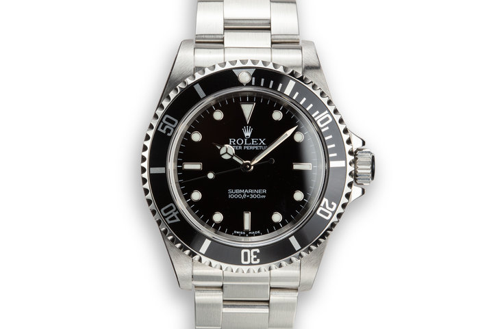 2002 Rolex Submariner 14060 photo