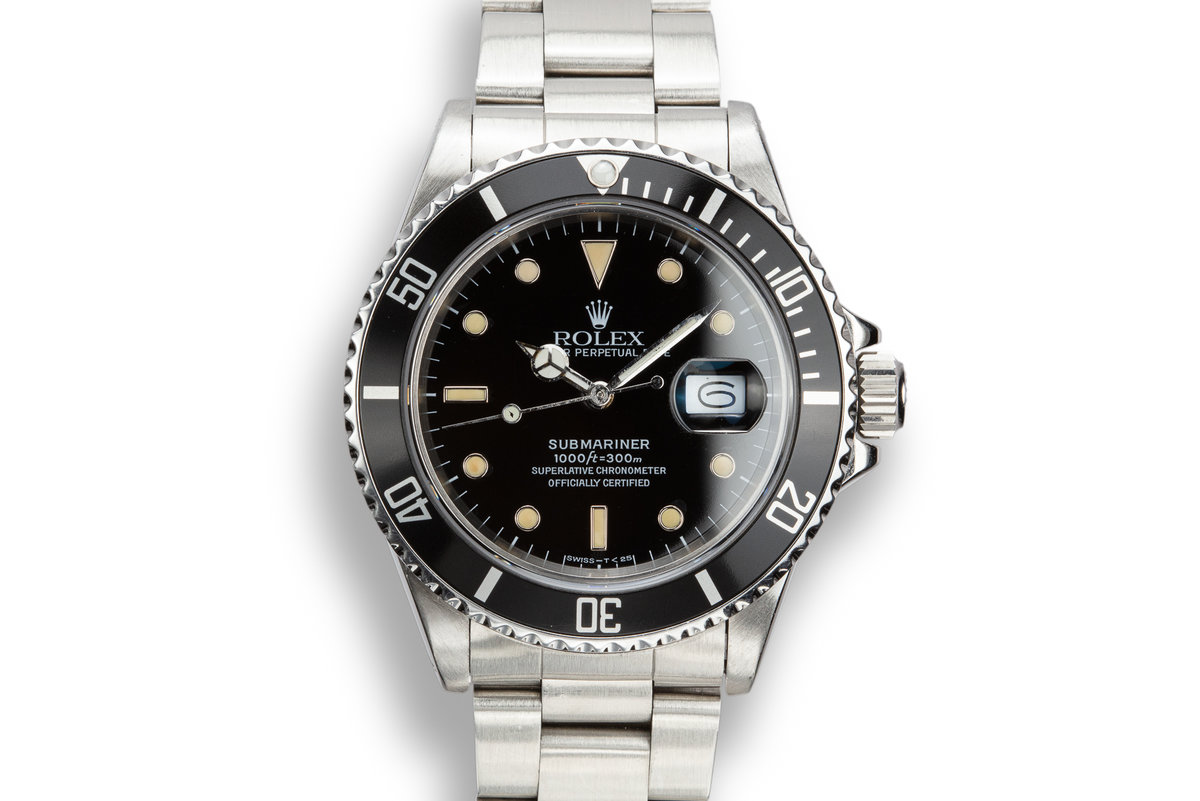 1987 Rolex Submariner 168000 photo, #0