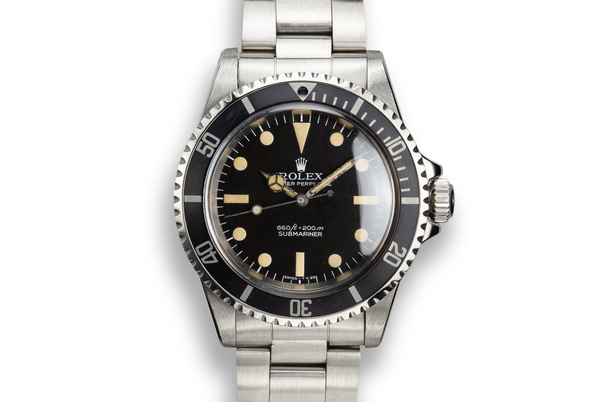 1978 Rolex Submariner 5513 with Pre Comex Dial photo, #0