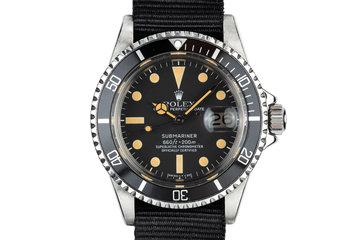 1979 Rolex Submariner 1680 with Service papers photo