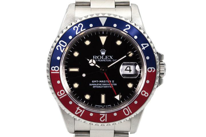 1991Rolex GMT II 16710 photo