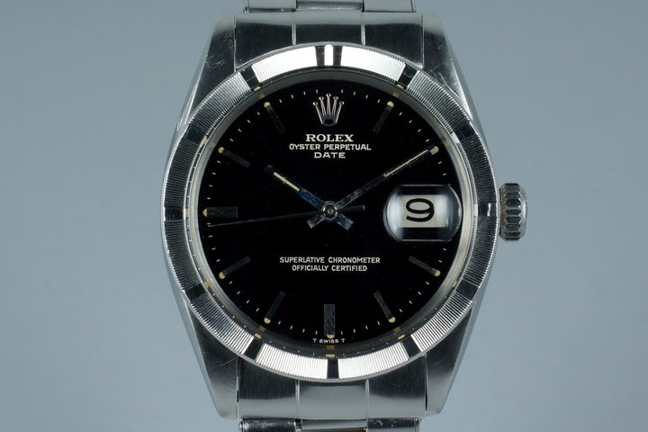 1966 Rolex Date Ref: 1501 with Glossy Gilt Dial photo