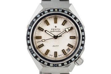 1971 Zenith Defy Dive Watch photo