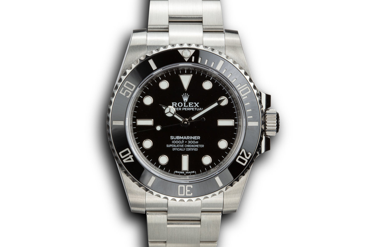 2019 Rolex Submariner 114060 with Box and Papers photo, #0