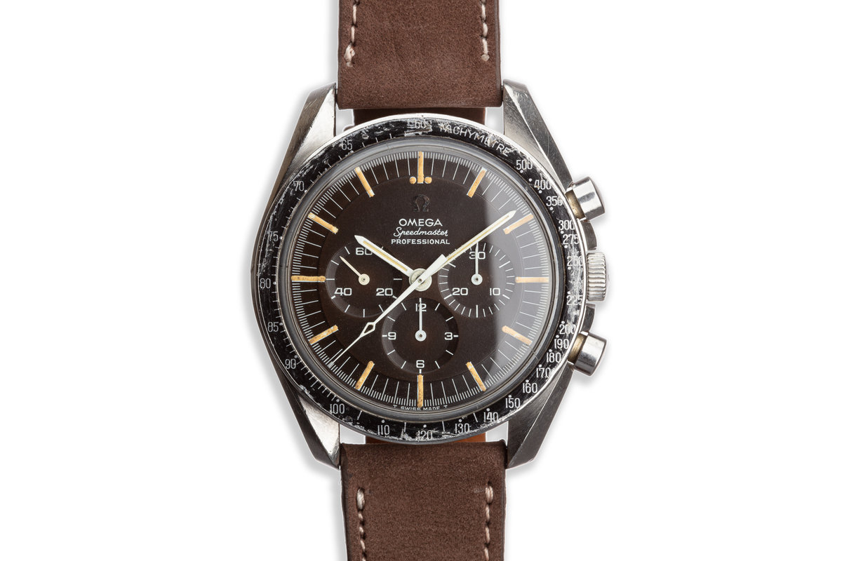 Vintage 1965 Omega Speedmaster Professional 105.003.65 Tropical Dial with DON Bezel photo, #0