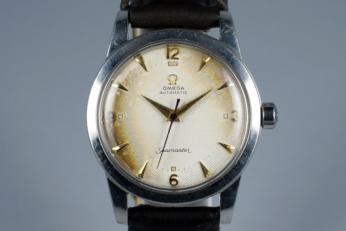 1952 Omega Seamaster CK 2577 Caliber 354 with Tropical Waffle Dial photo, #0