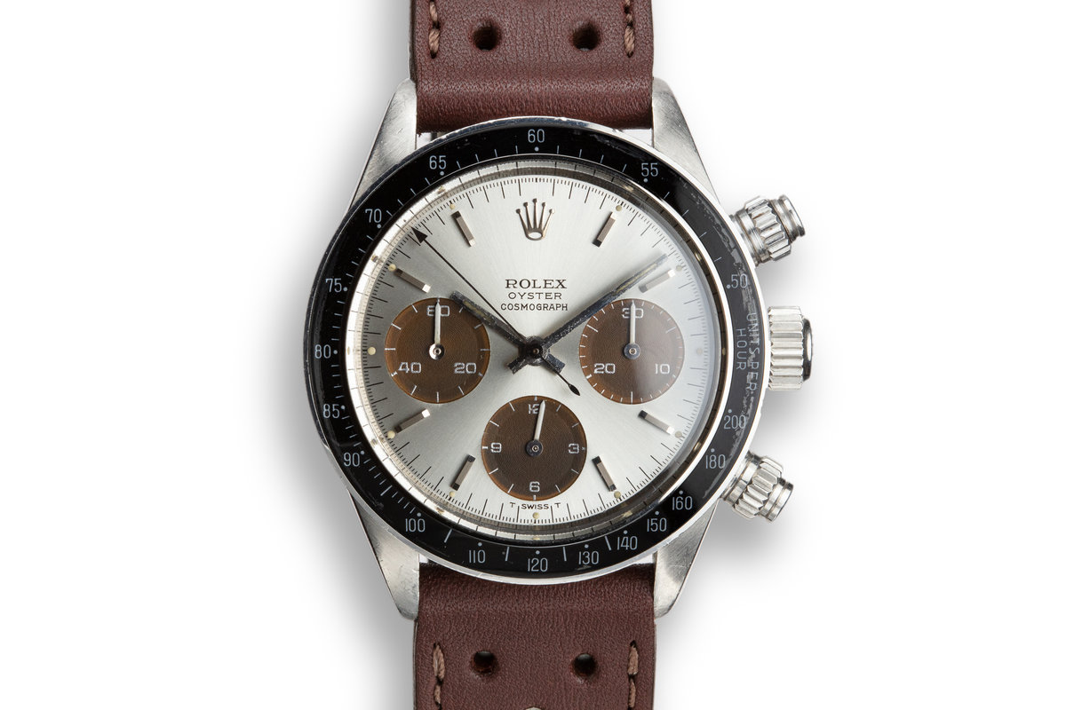 1974 Rolex Daytona 6263 Silver Dial with Tropical Sub Dials photo, #0