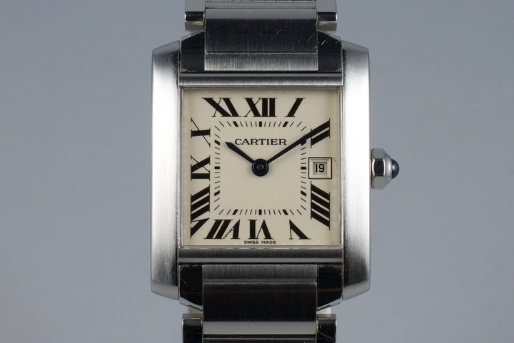 Cartier Quartz Tank Francaise 2465 photo