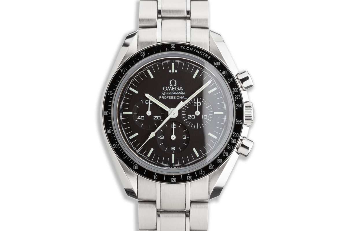 2015 Omega Speedmaster Professional 31130423001006 with Box and Card photo, #0
