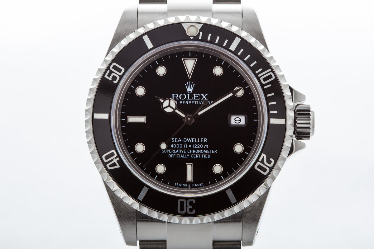 2000 Rolex Sea Dweller 16600  photo, #0