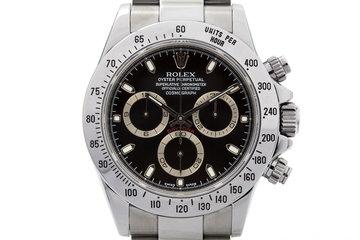 2007 Rolex Daytona 116520 Black Dial photo
