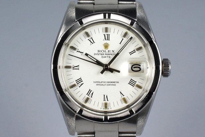 1974 Rolex Date 1501 White Roman Numeral Dial photo