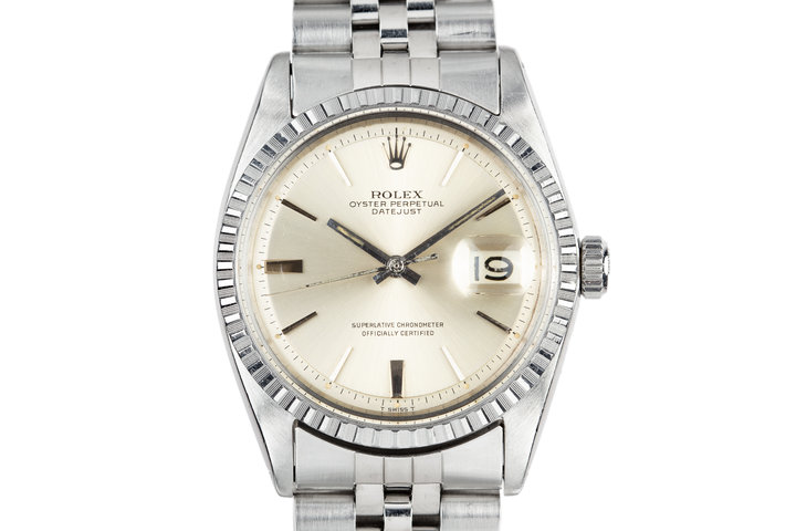 1967 Rolex DateJust 1603 Silver Dial photo
