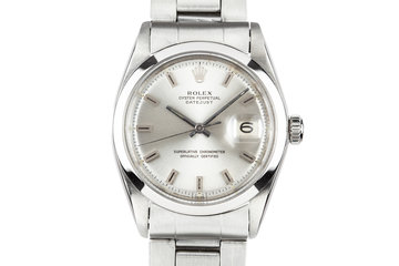 1967 Rolex DateJust 1600 Silver dial photo