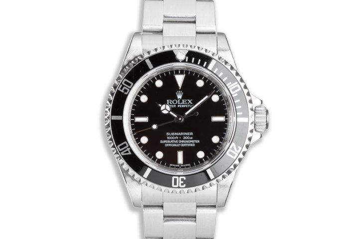 2007 Rolex Submariner 14060M 4 Line photo