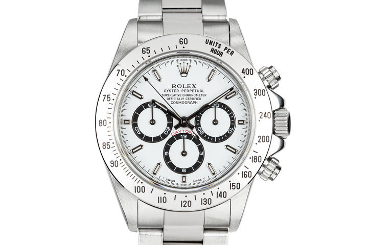 1995 Rolex Daytona 16520 White Dial with Box and Papers photo