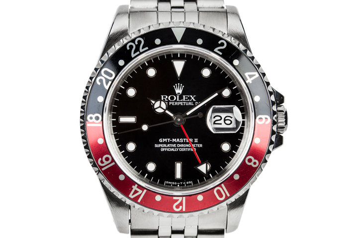 "1991 Rolex GMT-Master II 16710 With ""Coke"" Bezel Insert photo"