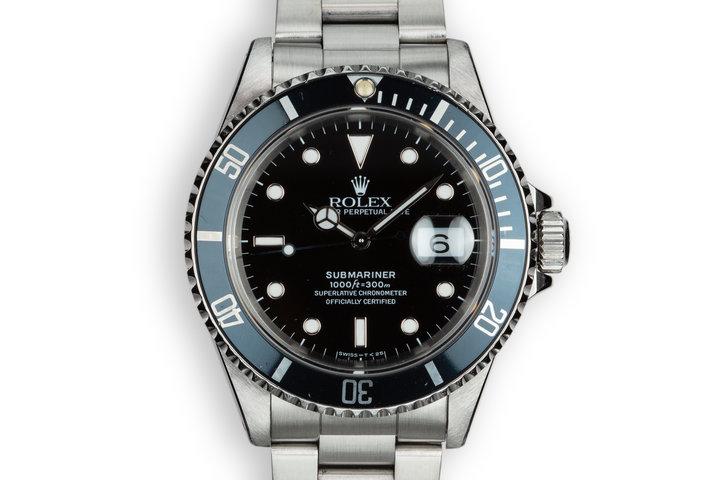 1990 Rolex Submariner 16610 photo