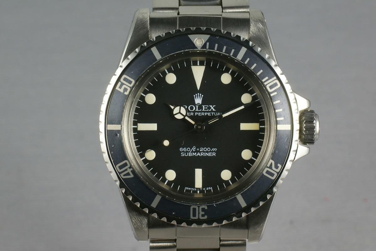 Rolex Submariner 5513 Pre-Comex Dial photo, #0
