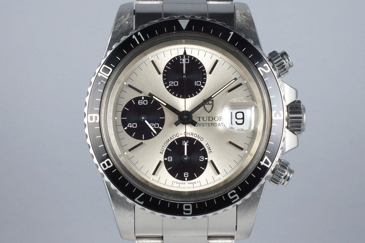 1995 Tudor Chronograph Big Block 79170 Silver Dial photo, #0