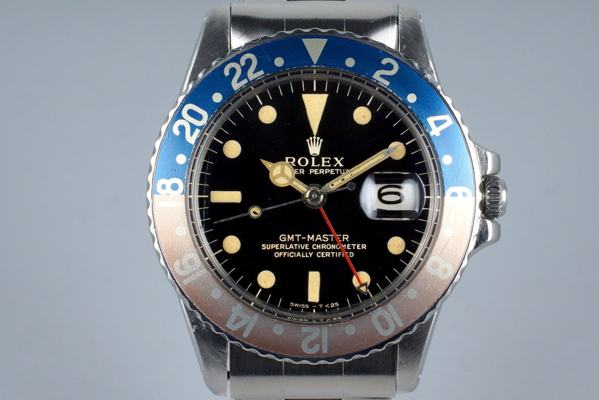 1964 Rolex GMT1675 Glossy Gilt Dial photo, #0