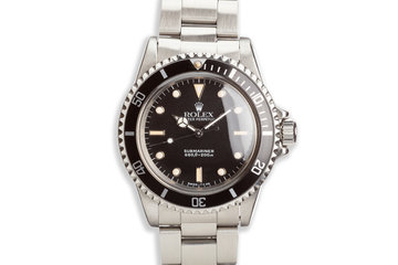 1985 Rolex Submariner 5513 Glossy Dial photo