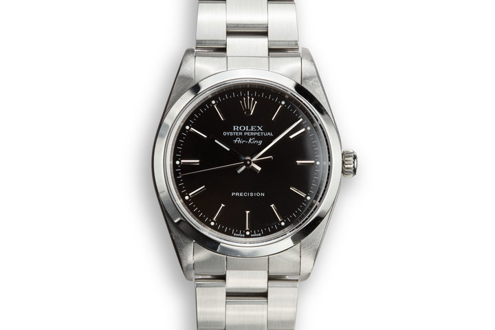 1999 Rolex Air-King 14000 Black Dial photo